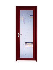 Двери межкомнатные  АБС –ламинированные глухие и двери алюминиевые